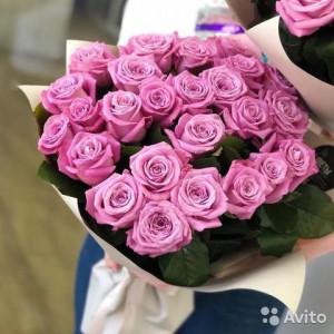 Букет из нежных эквадорских роз
