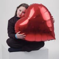 Шар 32 дюйма сердце
